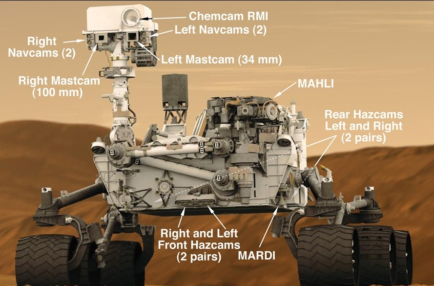 NASA-Curiosity-Cams